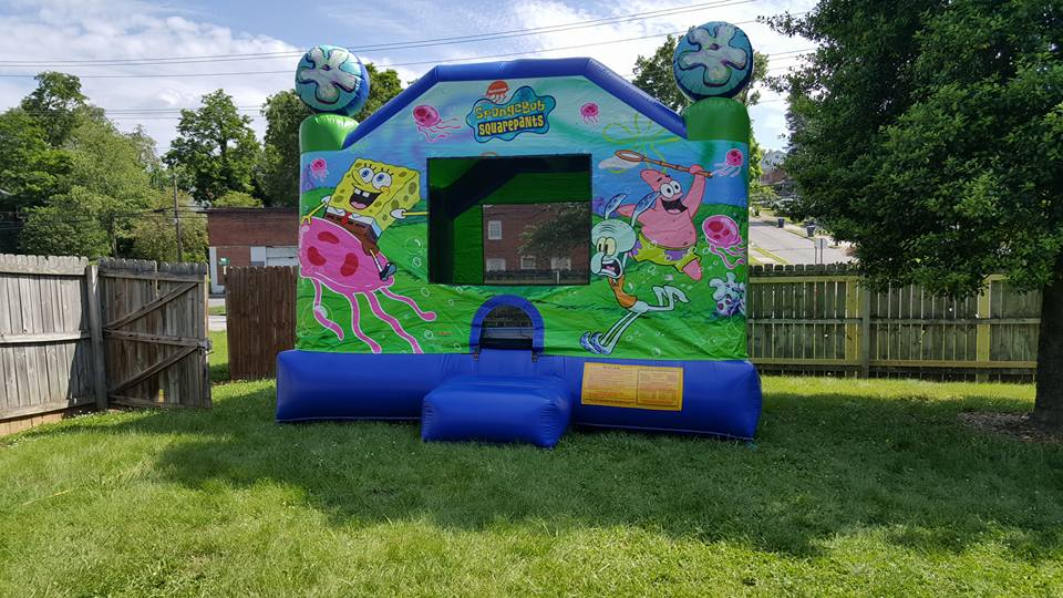 Spongbob inflatable bounce house