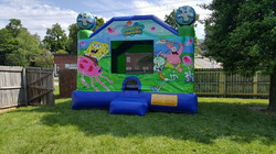 Spongbob inflatable bounce house