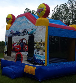 Cars inflatable bounce house