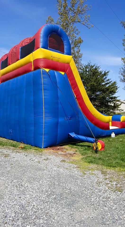 Inflatable Accelerator Slide