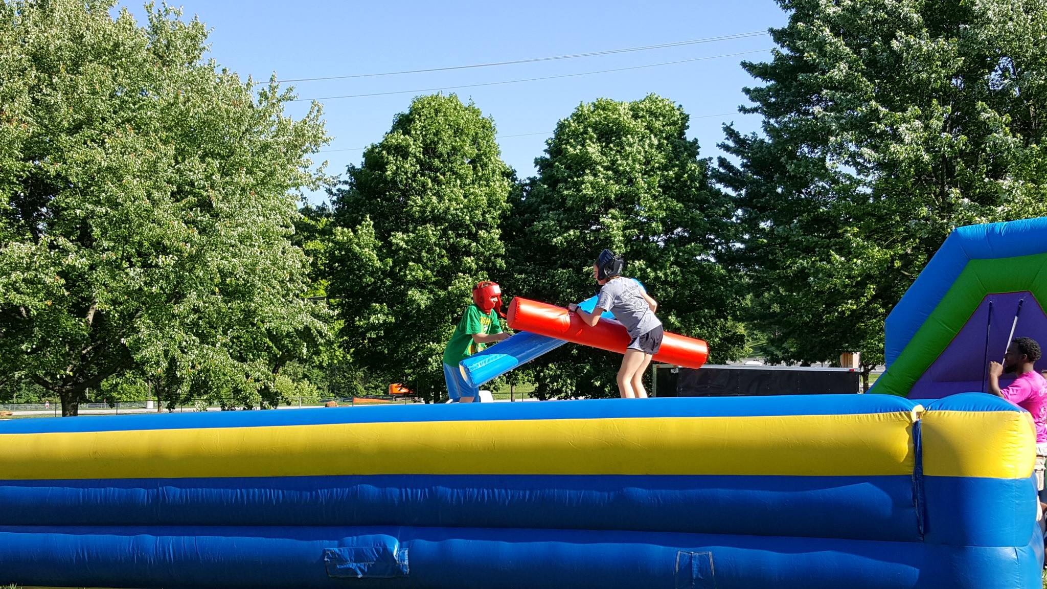 Inflatable Pedestal Joust