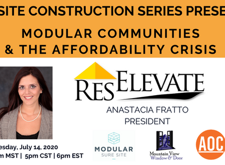 Modular Communities & The Affordability Crisis