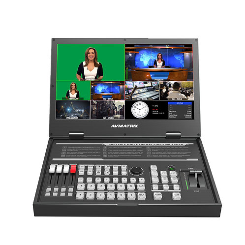AVMATRIX Video Switcher -  PVS0615U (with USB Output for Easy Capturing)