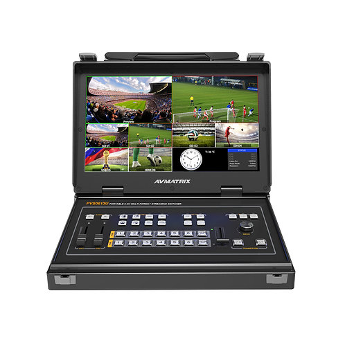 AVMATRIX Video Switcher - PVS0613U (with USB Output for Easy Capturing)