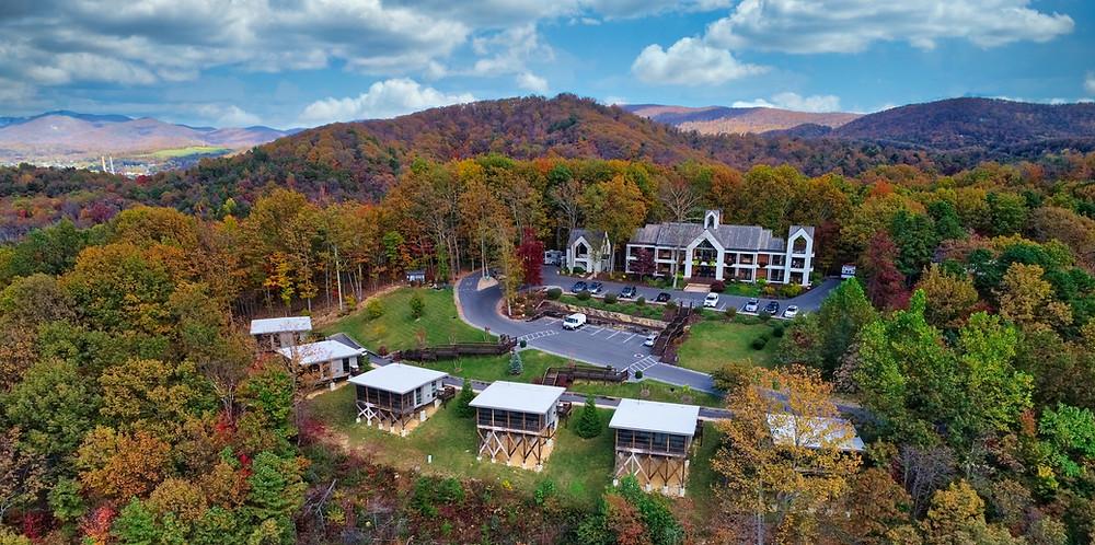 blue ridge mountains, iris inn, luxury inn, Shenandoah national park, fall foliage, fall
