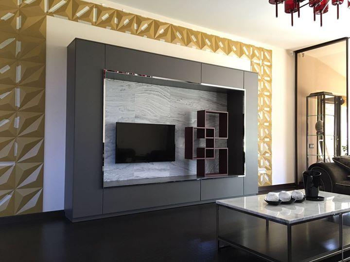установка 3d панелей,мебели мрамора.