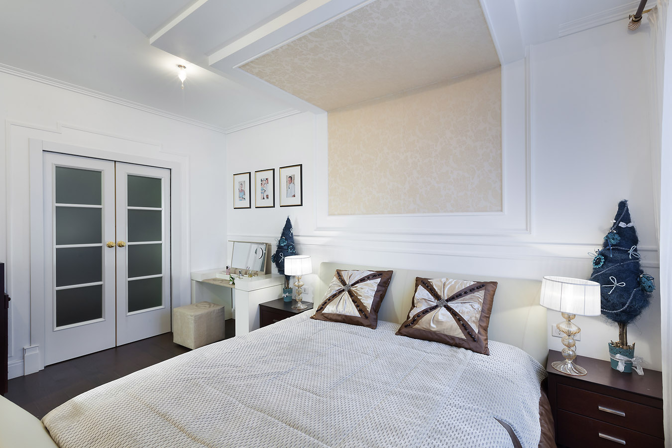 Спальня с гардеробом.