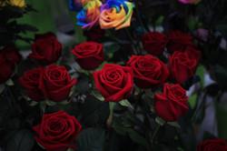 a la fleuristerie arpajon fleurs roses