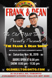 """The Frank & Dean Show"" @ The Old Mill Toronto - Nov 16, 2019"