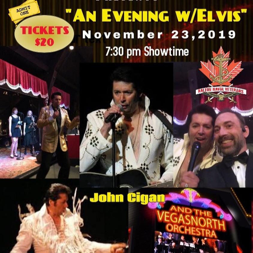 """An Evening w/Elvis"" @ Halton Naval Veterans Association"
