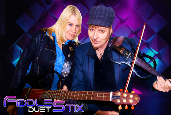 """The FiddleStix Duet"" - Feb 18, 2018 Family Day Weekend @ Mohawk OLG Casino/Raceway"