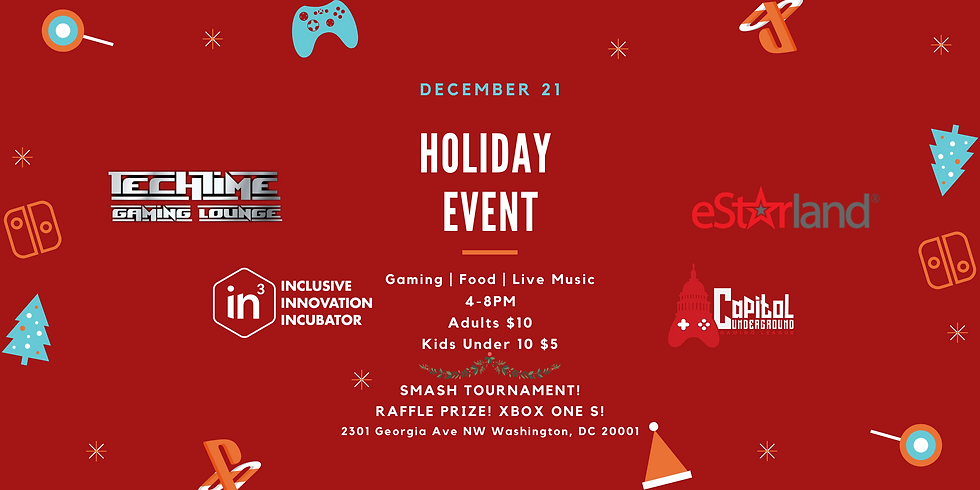 Game Night Holiday Party