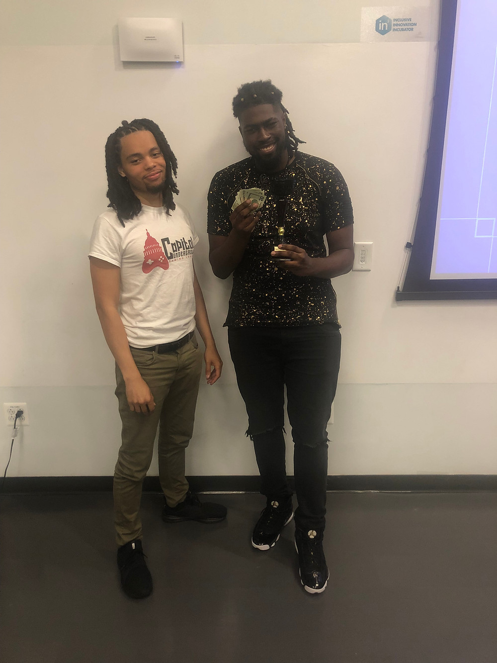 Capitol Underground Founder Trevor & Smash Showdown Champion Olumas