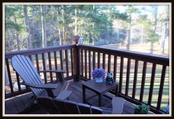 Wrens Nest Loft Deck View