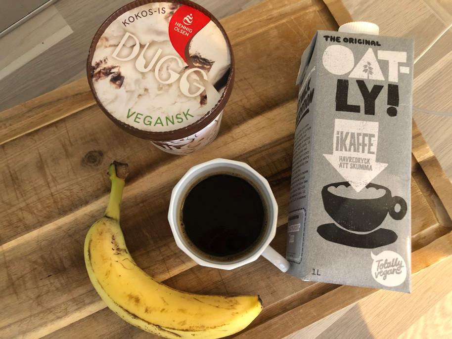 Vegan coffee shake ♥️