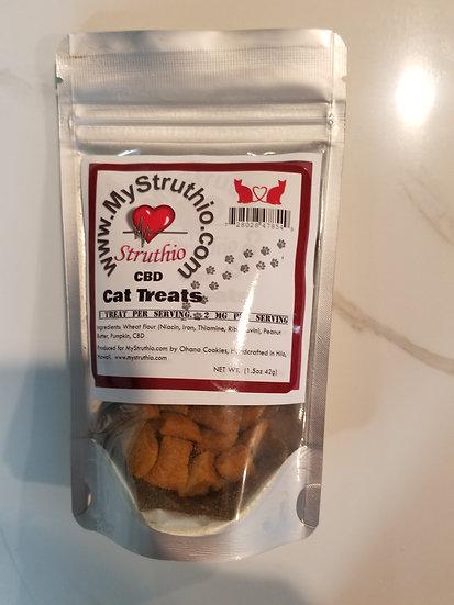 Cat (or small animal)  treats 2mg per treat, Struthio