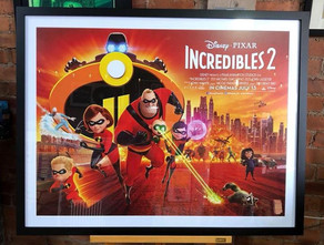 Pixar Incredibles 2 Framed