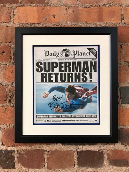 Superman Memorabilia