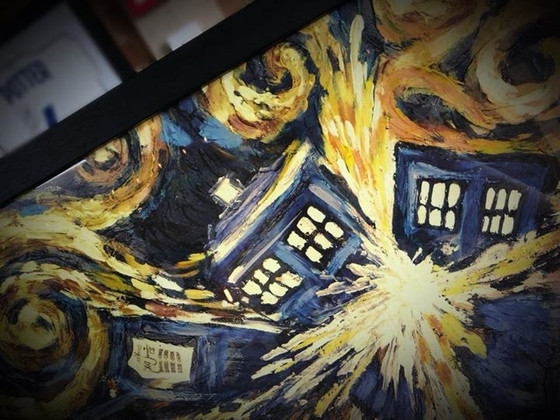 Dr Who and the Tardis