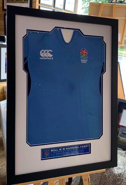 In2Frames was honoured to be asked to frame these match worn rugby shirts for England Rugby player Will Harding-Terry.  www.in2frames.com  #RFU #englandrugby #twickenham #RWC2019 England_Rugby_ @EnglandRugby @worldrugby @Scotlandteam @IrishRugby
