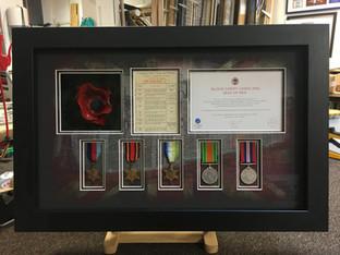 WW2 WW1 poppy remembrance