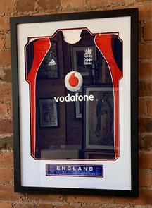 Cricket shirt frame