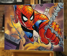 Spiderman Canvas