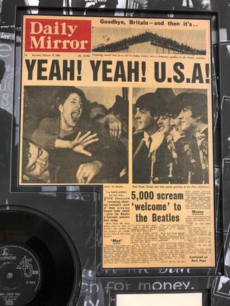 John Lennon Newspaper Clipping