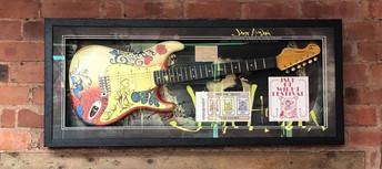 Jimi Hendrix Replica Guitar