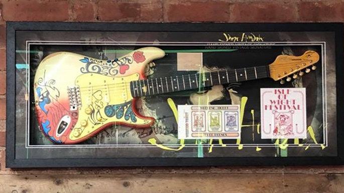 SOLD - Authentic Jimi Hendrix Autograph