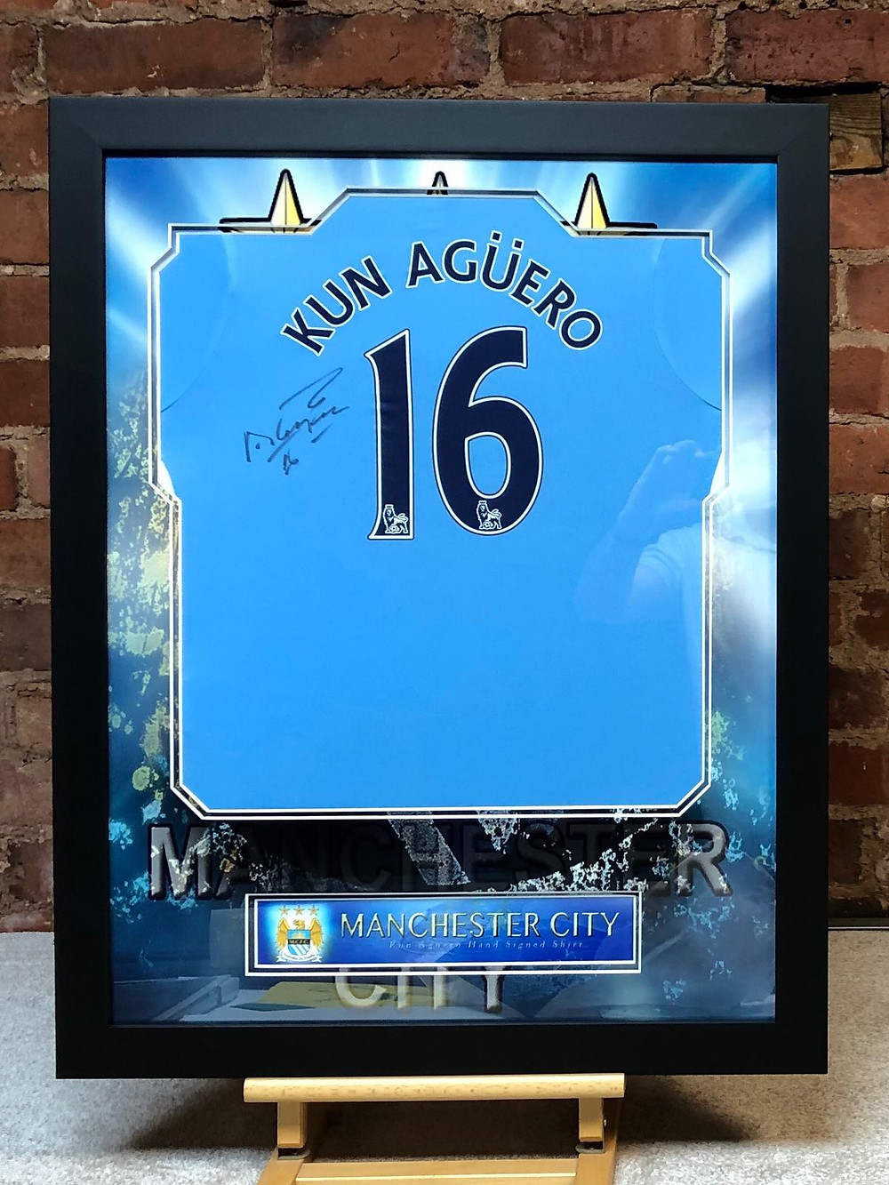 framed football shirts