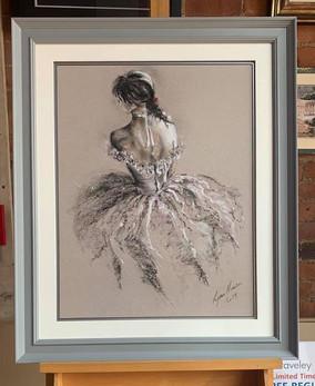 Pastel Ballerina Art Picture Frame
