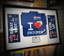 Snooker memorabilia