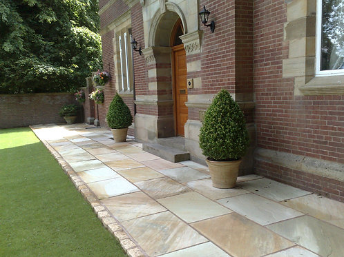 Natural Sandstone Paving Fossil Mint
