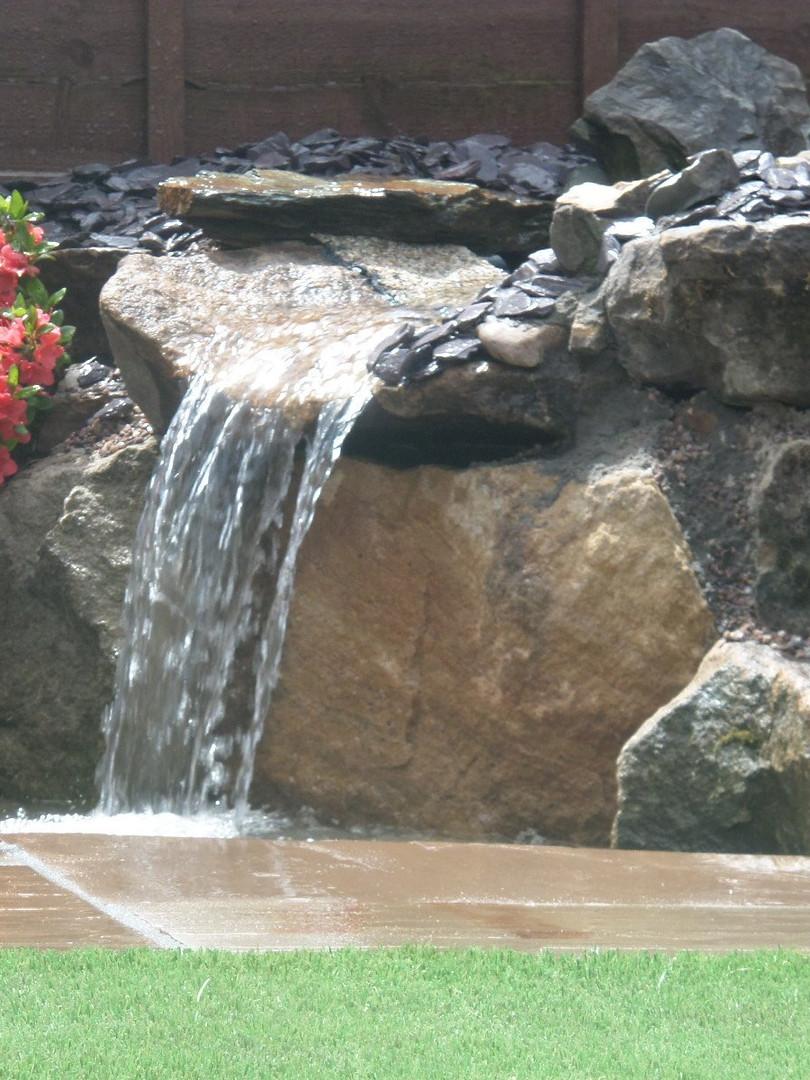 Ornate Pool and Cascade