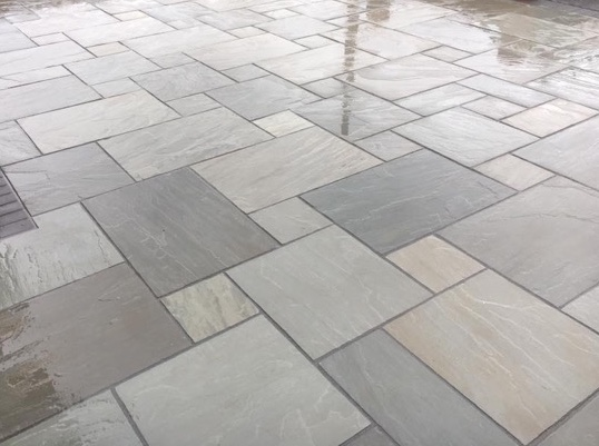 Indian sandstone kandla grey - silver gr