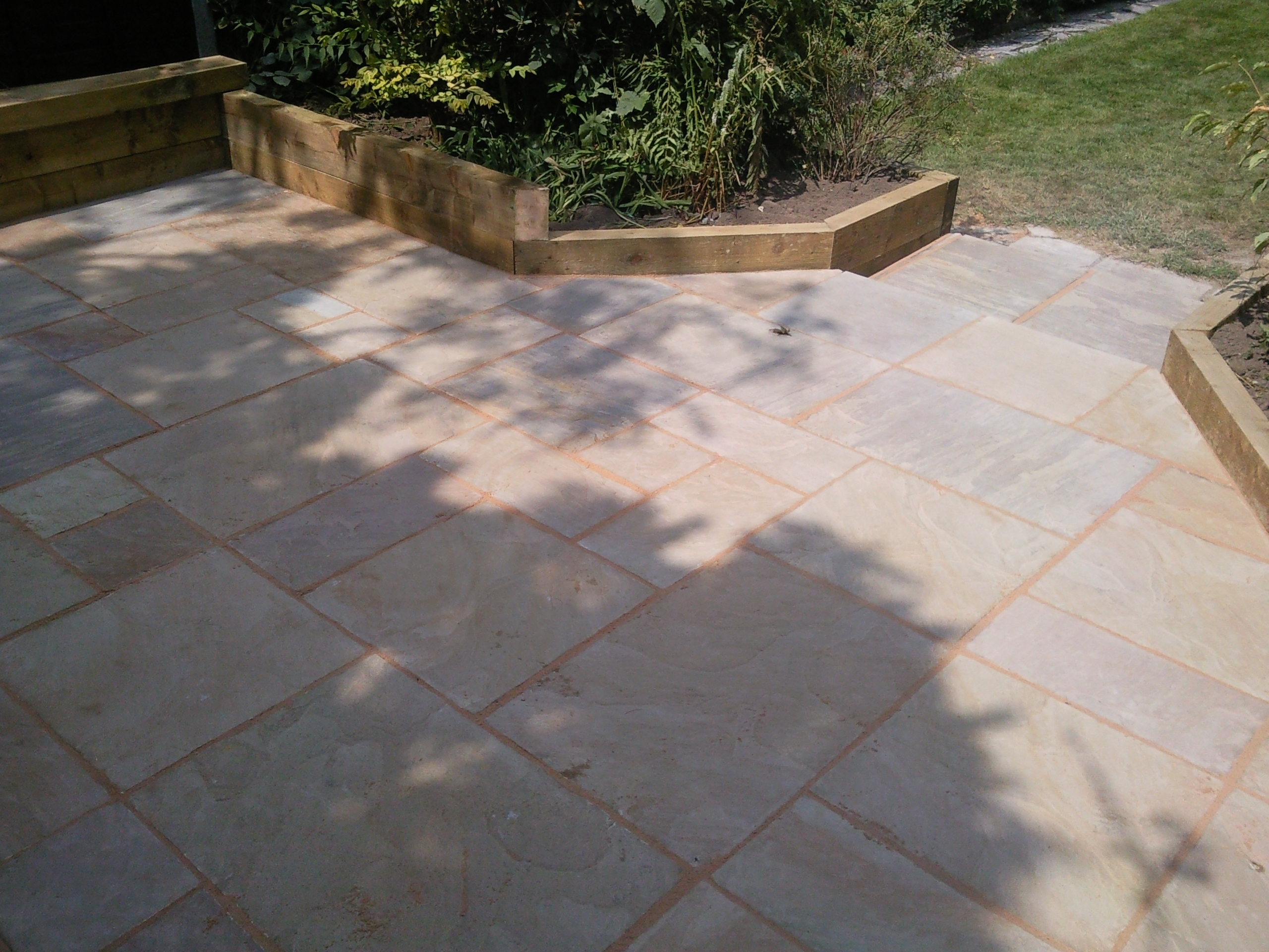 small paving project