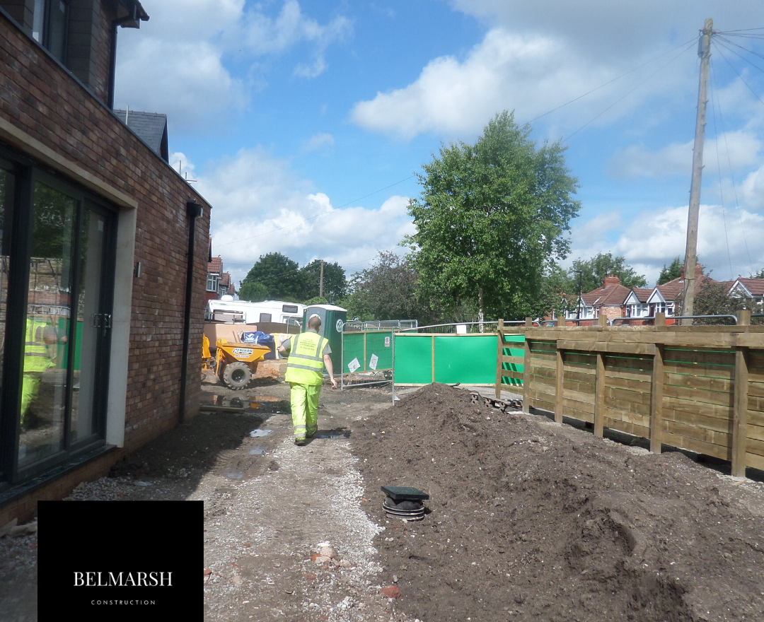 site fencing, Commercial Projects