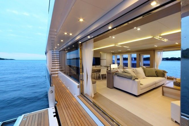 Super Yacht Interior Design