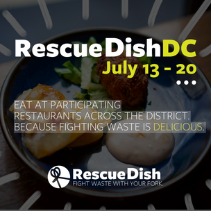 RescueDishDC is on!