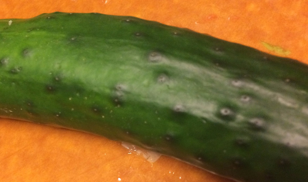 Bumpy cucumbers are still good cucumbers!
