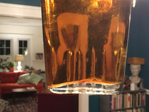 The case of the uninvited wisp in the honey liqueur