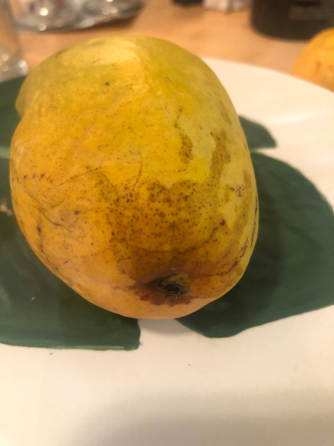 Dark streaks on your mango's skin?