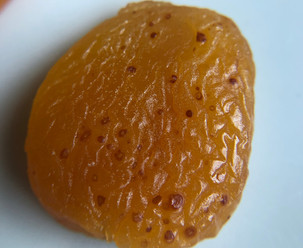 Brown speckles on your apricot?