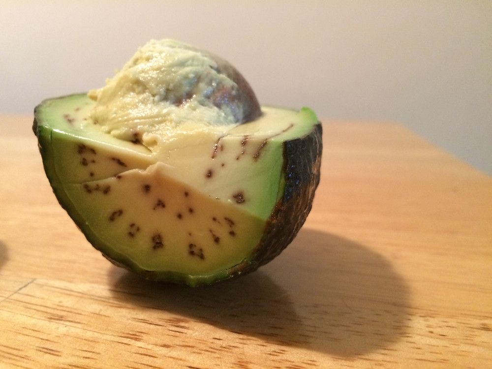 Brown dots in avocado