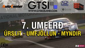 7. Umferð GTS Iceland í máli og myndum