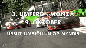 3. Umferð, 9. október: Úrslit, umfjöllun og myndir