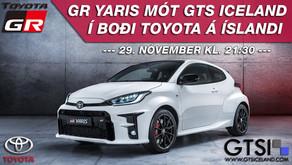 GR Yaris mót GTS Iceland & Toyota á Íslandi