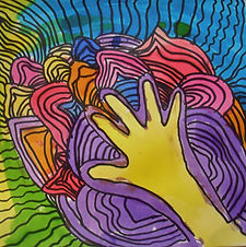 stromen om je hand