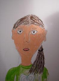 portret tekenen kinderen